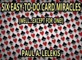 Six Easy-To-Do Card Miracles