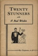 Twenty Stunners with a Nail Writer by Franklin M. Chapman
