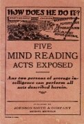 Five Mind Reading Acts Exposed by unknown