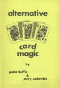 Alternative Card Magic by Peter Duffie & Jerry Sadowitz