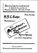 Der Amateurzauberer by H. F. C. Suhr