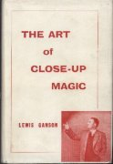 The Art of Close-Up Magic Volume 1 (used) by Lewis Ganson