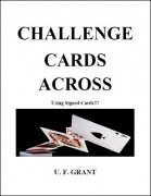 Challenge Cards Across by Ulysses Frederick Grant