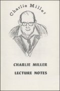 Charlie Miller Lecture Notes by Charlie Miller