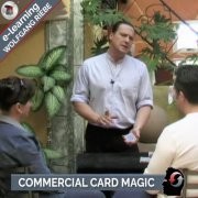 Commercial Card Magic by Wolfgang Riebe