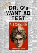 Dr. Q's Want Ad Test by Claude Alexander Conlin