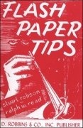 Flash Paper Tips by Stuart Robson & Ralph W. Read