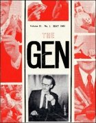 The Gen Volume 21 (1965) by Harry Stanley & Lewis Ganson