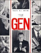 The Gen Volume 22 (1966) by Harry Stanley & Lewis Ganson