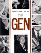 The Gen Volume 25 (1969) by Harry Stanley & Lewis Ganson