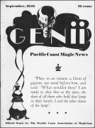 Genii Volume 01 (Sep 1936 - Aug 1937) by William W. Larsen