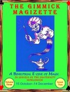 The Gimmick MagiZette: Volume 3, Issue 2 (Oct - Dec 2013) by Solyl Kundu