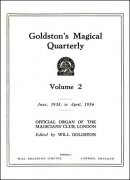 Goldston's Magical Quarterly Volume 2 (Jun 1935 - Apr 1936) by Will Goldston