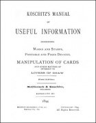 Koschitz's Manual of Useful Information by Koschitz