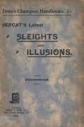 Latest Sleights and Illusions by Hercat