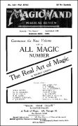 The Magic Wand Volume 18 (1929) by George Johnson