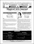 Magical Arts Journal Volume 1 Issue 3 (Oct 1986) by Michael Ammar & Adam J. Fleischer