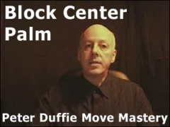 Block Center Palm by Peter Duffie