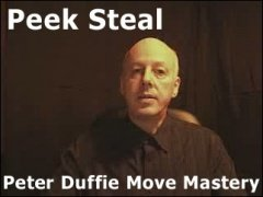 Peek Steal by Peter Duffie