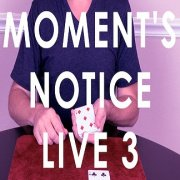 Moment's Notice Live 3 by Cameron Francis