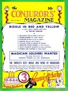 The New Conjurors' Magazine: Volume 3 (Mar 1947 - Feb 1948) by Walter Gibson