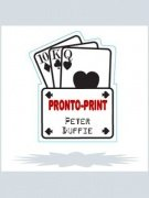 Pronto Print by Peter Duffie