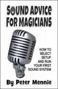 Sound Advice for Magicians by Peter Mennie