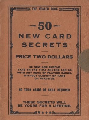50 New Card Secrets by Frank La Fontaine