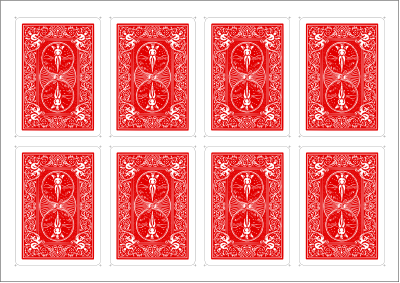 image about Printable Blank Playing Cards named Posts