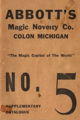 Abbott Magic Catalog #5 (used) by Percy Abbott