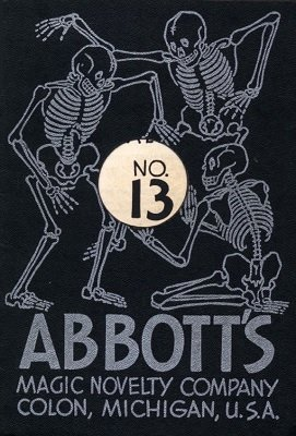 Abbott Magic Catalog #13 1952 by Percy Abbott