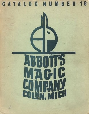 Abbott Magic Catalog #16 1964 by Recil Bordner