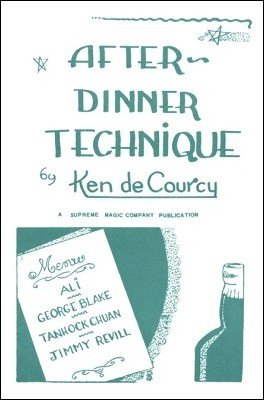 After Dinner Technique (used) by Ken de Courcy
