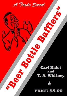 Beer Bottle Bafflers by Carl Haist & T. A. Whitney
