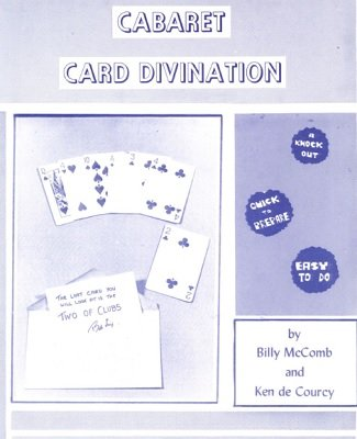 Cabaret Card Divination by Billy McComb & Ken de Courcy