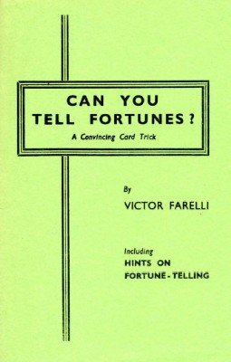 Can You Tell Fortunes? by Victor Farelli