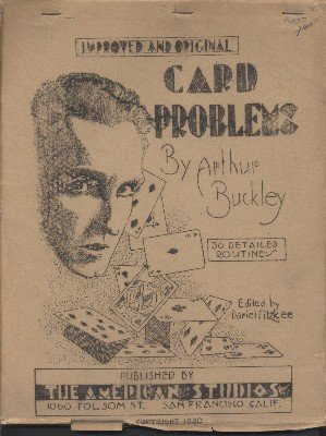 Card Problems (used) by Arthur Buckley