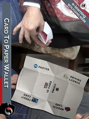 Card to Paper Wallet by Hans Trixer & Wolfgang Riebe