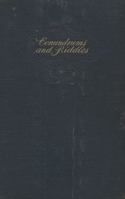 Conundrums, Riddles, Puzzles and Gags by John Ray