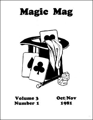 Derek Lever's Magic Mag Volume 3 by Derek Lever