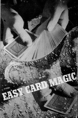 Easy Card Magic (used) by Rob Roy