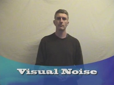 Egotistical Opinions: Visual Noise by Ian Kendall