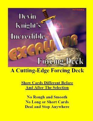 Excalibur Forcing Deck by Devin Knight