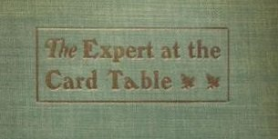 """The Expert at the Card Table"" cover"