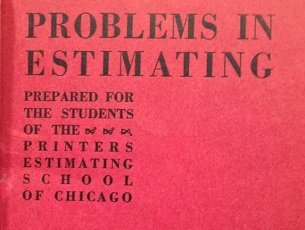 """Problems in Estimating"" cover"