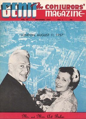 Genii Volume 22 (Sep 1957 - Aug 1958) by William W. Larsen