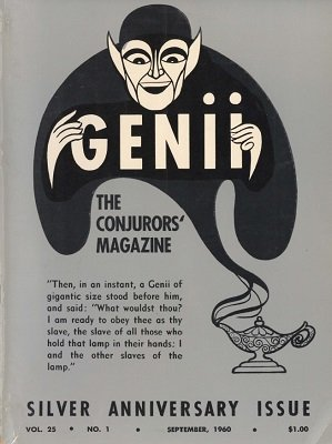 Genii Volume 25 (Sep 1960 - Aug 1961) by William W. Larsen