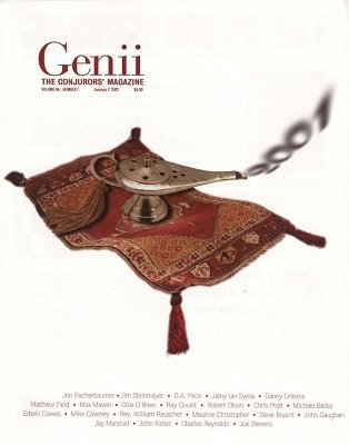 Genii Volume 64 (2001) by Richard Kaufman