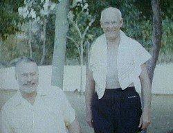 Ernest Hemingway and Raymond White