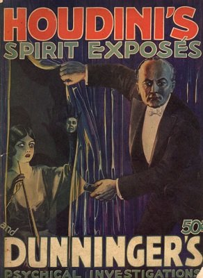 Houdini's Spirit Exposés and Dunninger's Psychical Investigations (used) by Joseph Dunninger